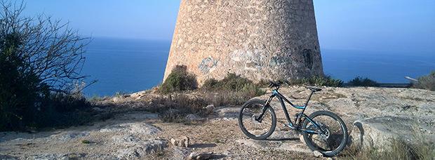 La foto del día en TodoMountainBike: 'La Sierra de Santa Pola'