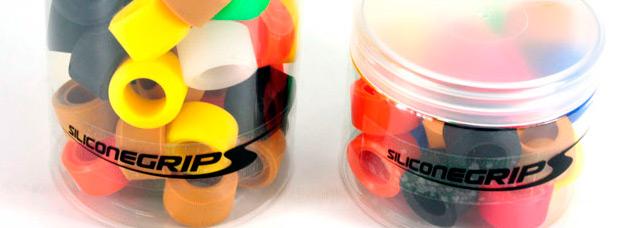 Rings de Siliconegrips by Alpcross, anillos de silicona para crear puños personalizados
