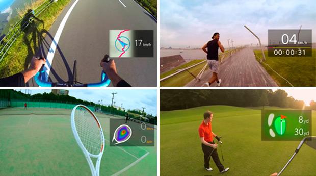 Gafas inteligentes, el próximo paso de la tecnología destinada al deporte