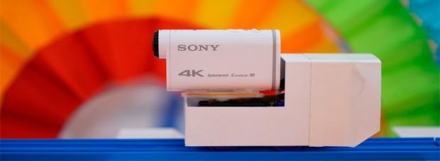 Interesante vídeo promocional (a 4K) sobre la nueva Sony Action Cam FDR-X1000V