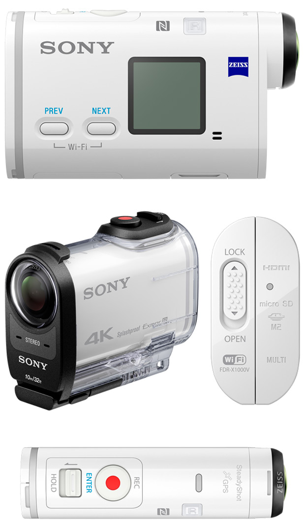 Sony Action Cam X1000V, la nueva cámara de acción con grabación 4K de Sony