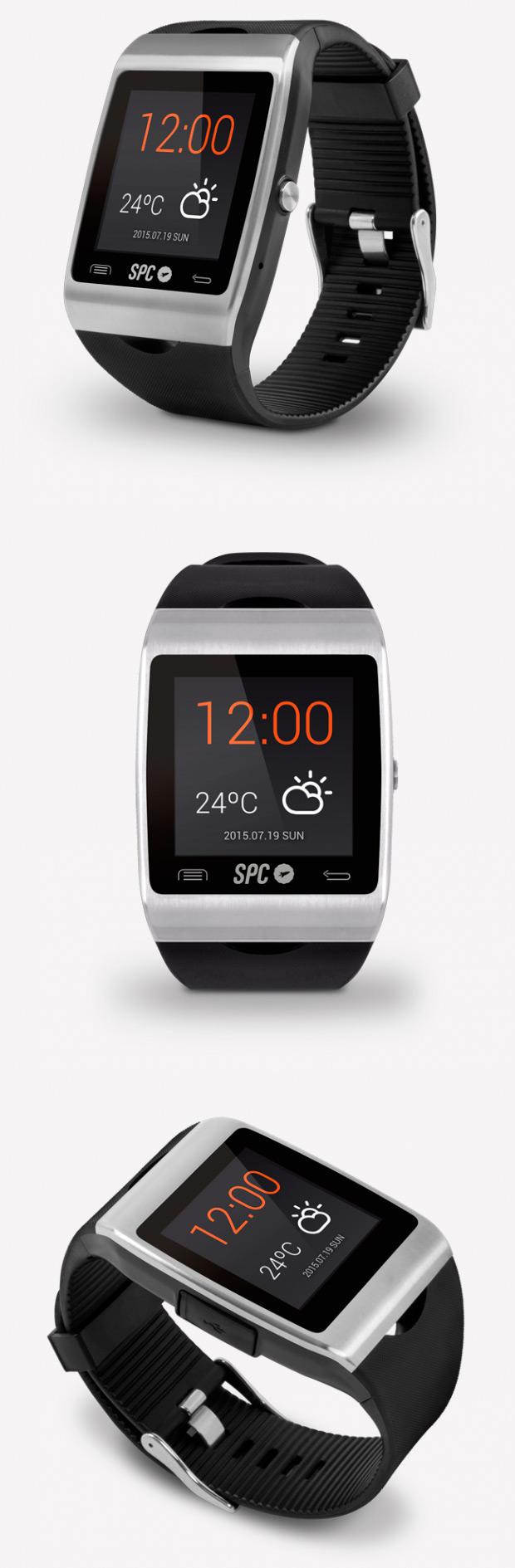 SPC Smartee Watch II, las funciones de un smartphone Android en nuestra muñeca