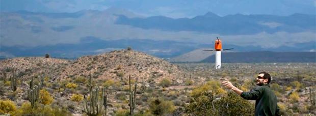 Sprite, un dron cilíndrico portátil especialmente concebido para la aventura