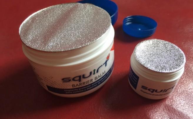 Nuevo envase para la crema protectora Squirt Barrier Balm