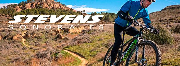 La nueva Stevens Sonora ES de 2015 en acción