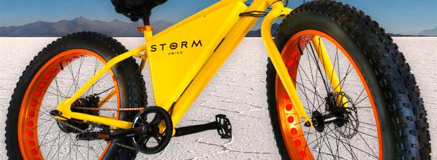 Storm eBike, una 'Fat Bike' eléctrica de bajo coste y grandes posibilidades
