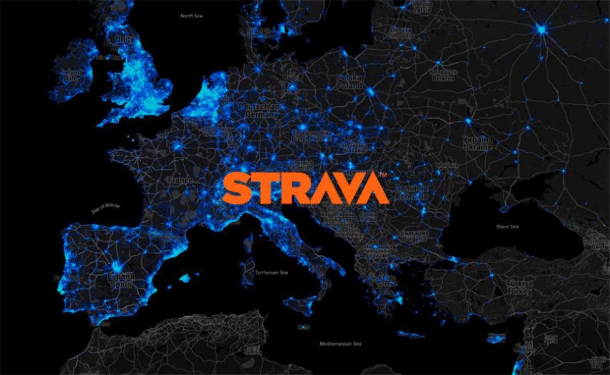 El interesante mapa de calor de Strava sobre el uso de la bicicleta en el mundo