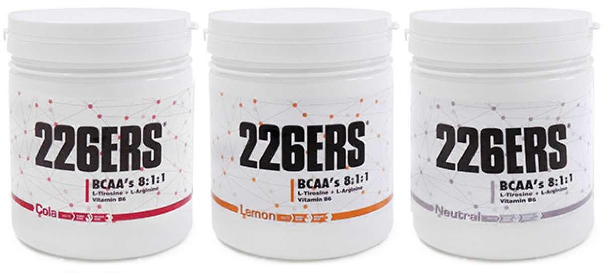 """Nuevos suplementos de Glutamina, Creatina y BCAA""""s de 226ERS"""