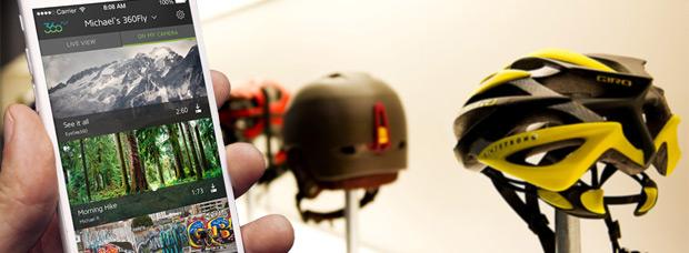 La tecnología inmersiva de 360fly, integrada en los próximos cascos de Bell y Giro