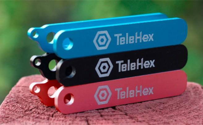 TeleHex, una compacta y funcional llave allen universal