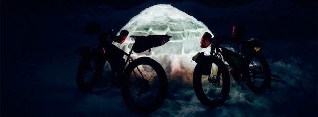 'The Cold Vein', o cómo disfrutar del frío invierno gracias a las 'Fat Bikes'