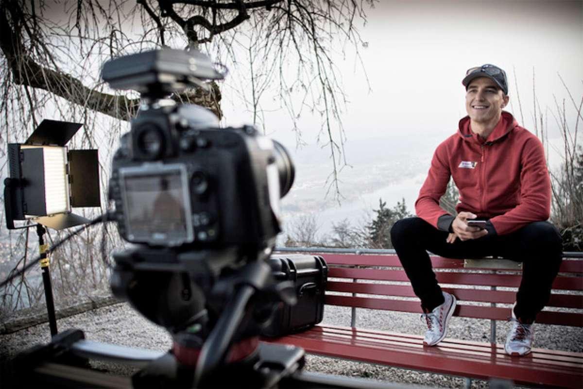 """""""The Hunt for Glory"""", la nueva serie de vídeos de Nino Schurter en su carrera hacia el oro olímpico de Río de Janeiro 2016"""