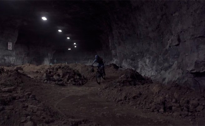 'The Mine', o cómo rodar bajo tierra con Rob J. Heran del Canyon Bicycles Team