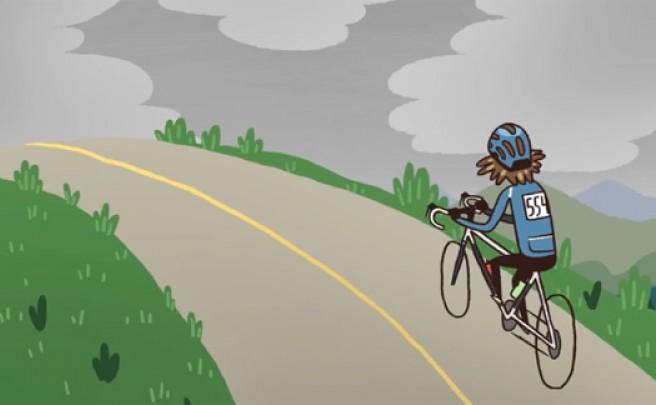 'The Ride', un cortometraje animado que ilustra la pasión de un ciclista de forma maravillosa