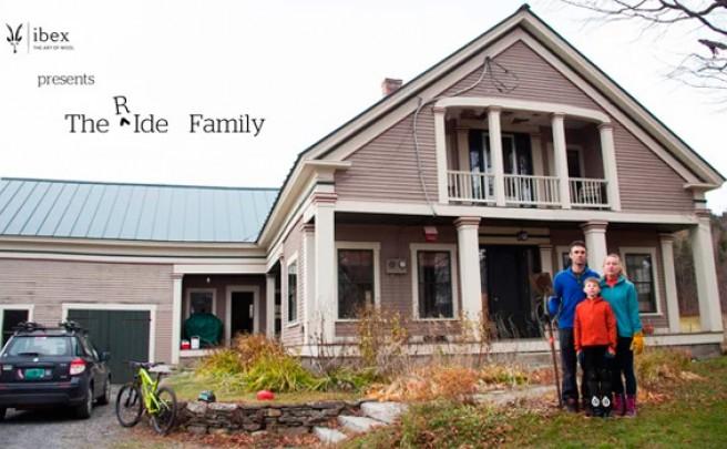 La familia [R]Ide y su pasión por las bicicletas de montaña