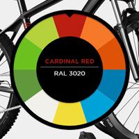 Edición limitada para el portabicis Thule ProRide 598, ahora a juego con los colores de nuestra bicicleta