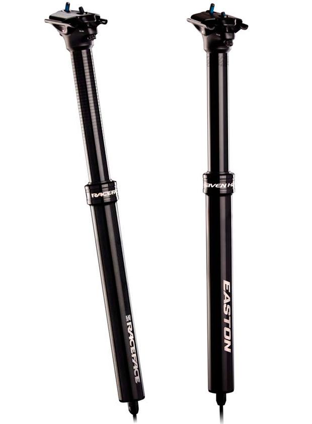 Tres marcas, dos tijas telescópicas y un mismo diseño: Easton Haven y Race Face Turbine