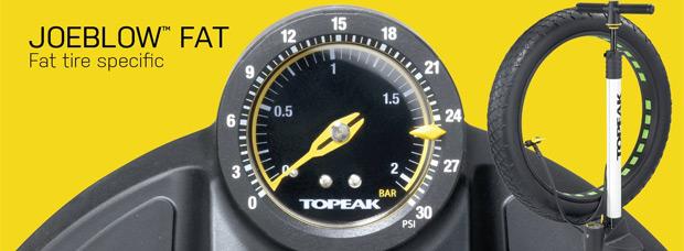 Topeak JoeBlow Fat, una bomba de aire diseñada para Fat Bikes