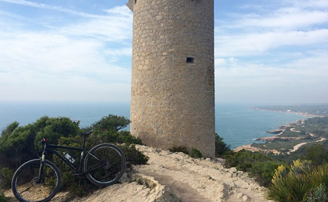 La foto del día en TodoMountainBike: 'La Torre Badum'