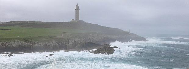 La foto del día en TodoMountainBike: 'Mañana de invierno en La Coruña'