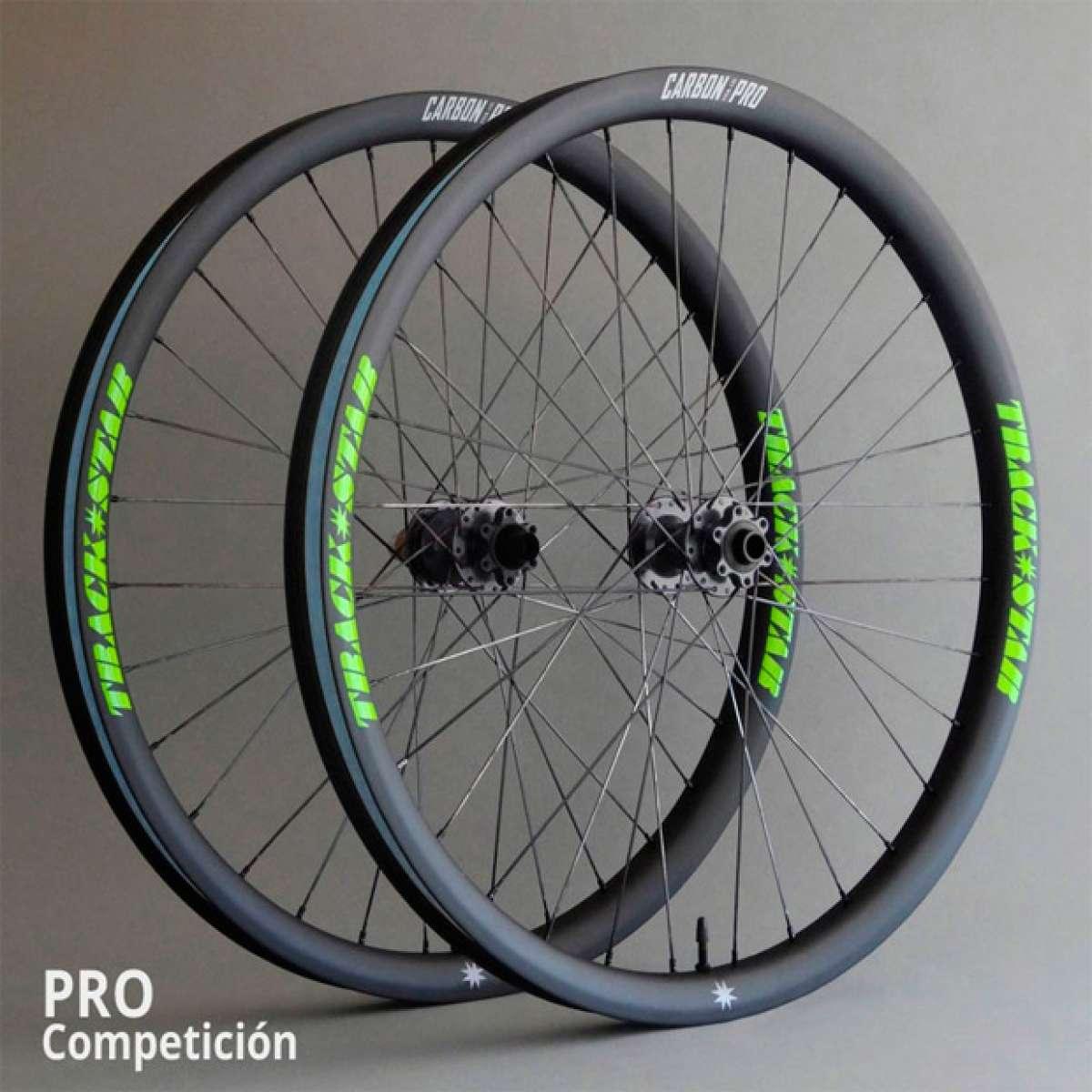 TrackStar Enduro PRO, nuevas ruedas de carbono con perfil ancho destinadas a la competición