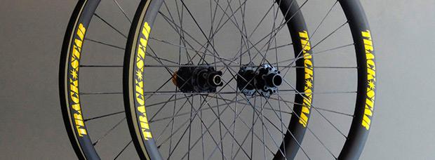 TrackStar Wheels, ruedas de carbono 'a la carta' con perfil ancho y garantía nacional