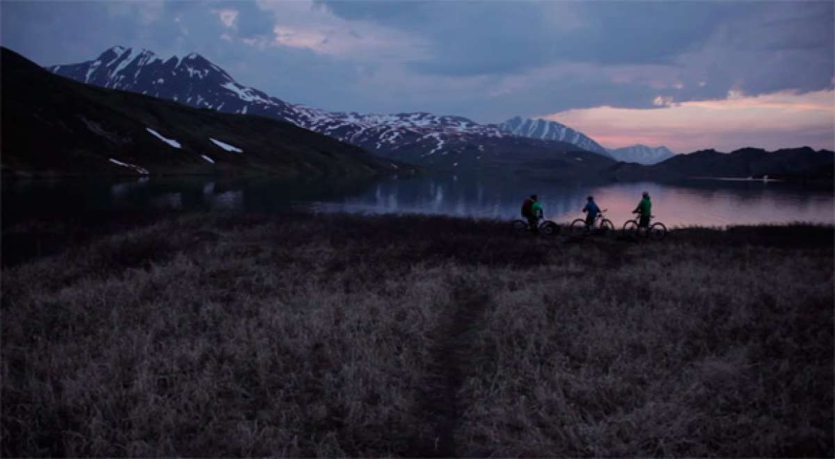 Rodando por los senderos de Alaska con Matt Hunter y compañía