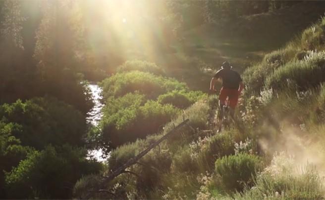 Rodando por los senderos de Sun Valley (Idaho) con Matt Hunter y compañía