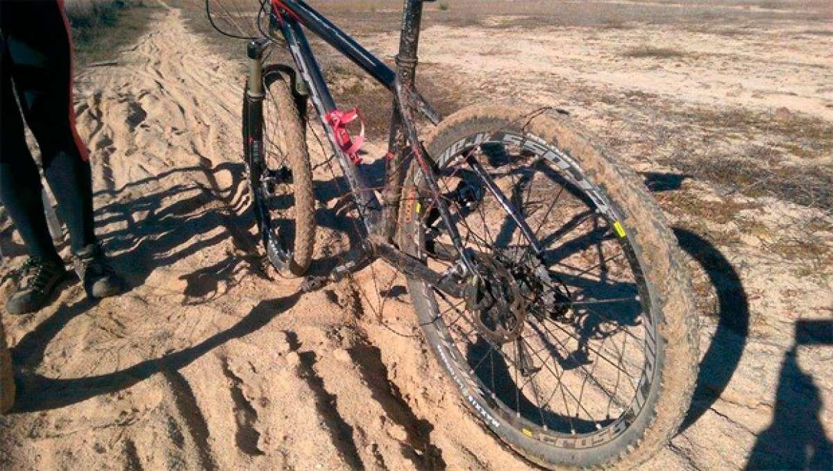 Más trampas para ciclistas: En el Torrent de Santa Ponça (Mallorca) y en los senderos de San Ignacio y El Mimbre (Jaén)