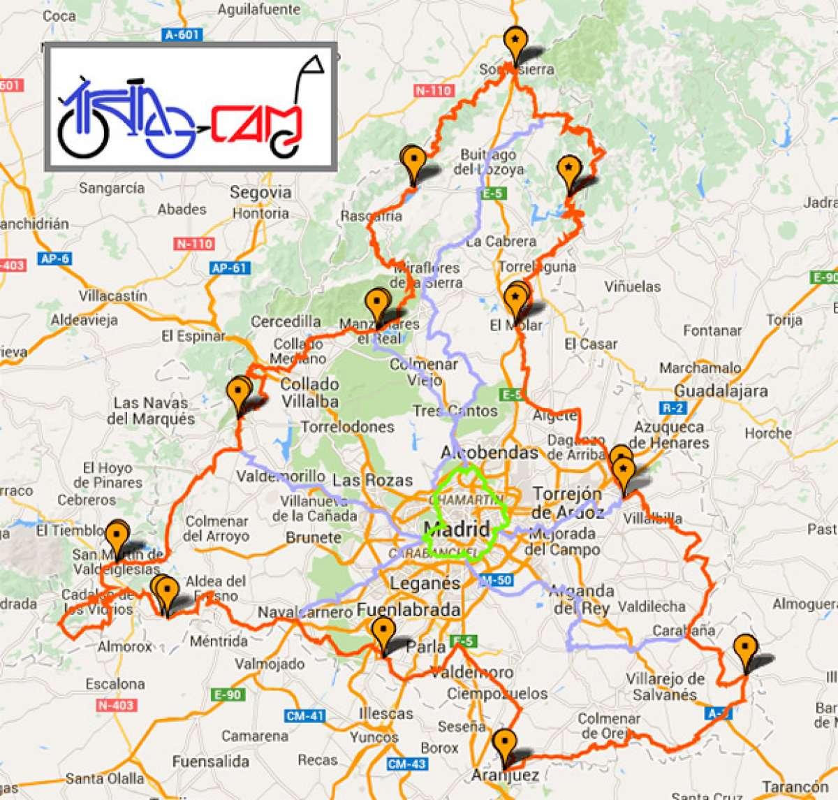 """TransCAM, vacaciones """"a pedales"""" en la Comunidad de Madrid"""