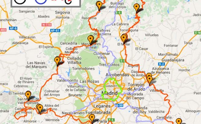 TransCAM, vacaciones 'a pedales' en la Comunidad de Madrid