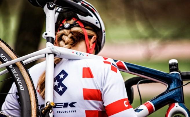 Así rueda Katie Compton sobre la nueva Trek Boone de ciclocross