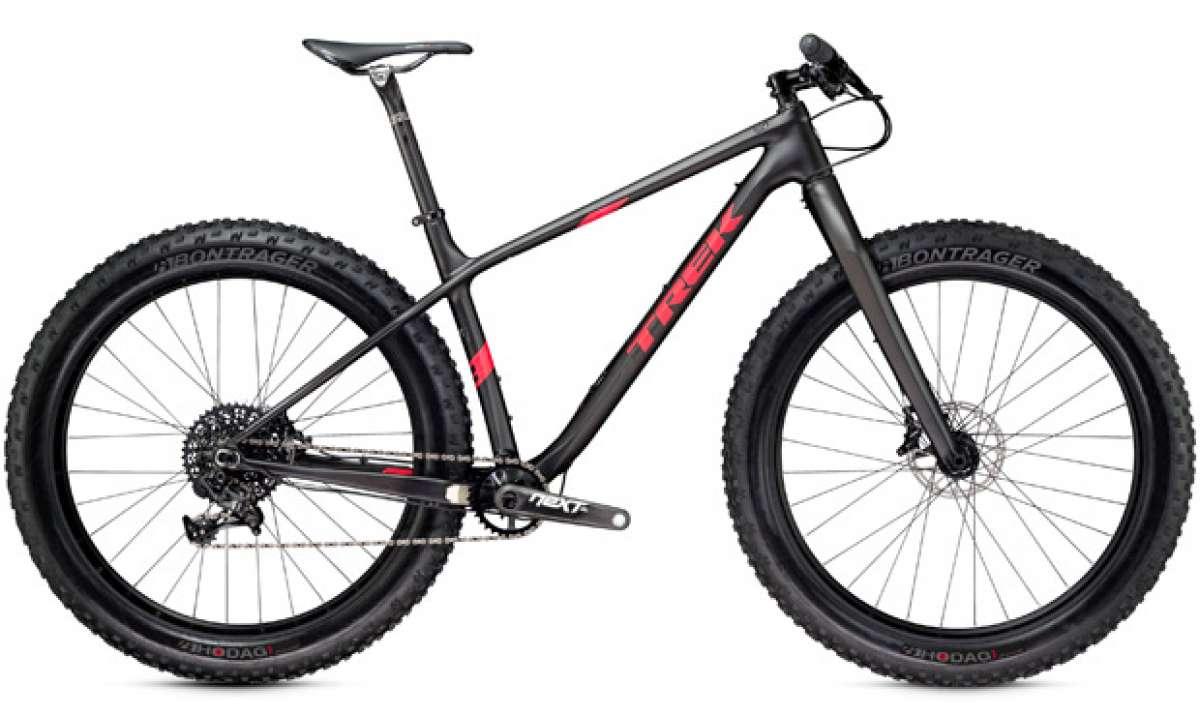 Trek Farley 2016, nuevas versiones de carbono para la 'Fat Bike' más divertida de Trek