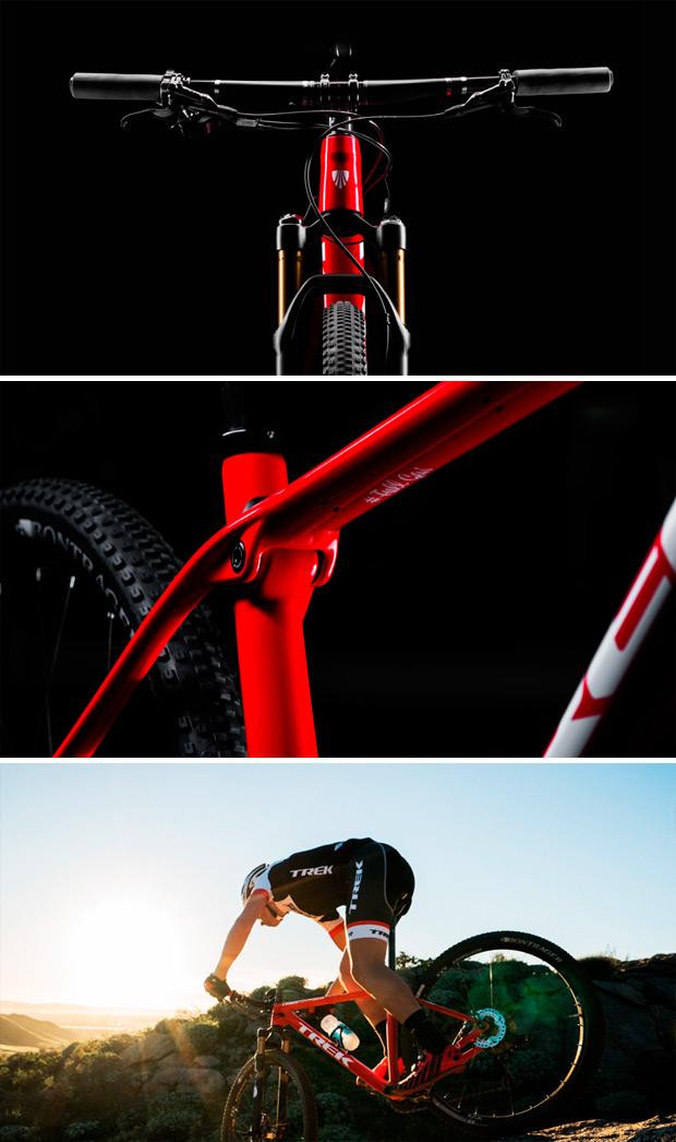 Trek Procaliber SL 2016, una avanzada rígida con rótula 'IsoSpeed' dispuesta a cambiar las reglas del juego