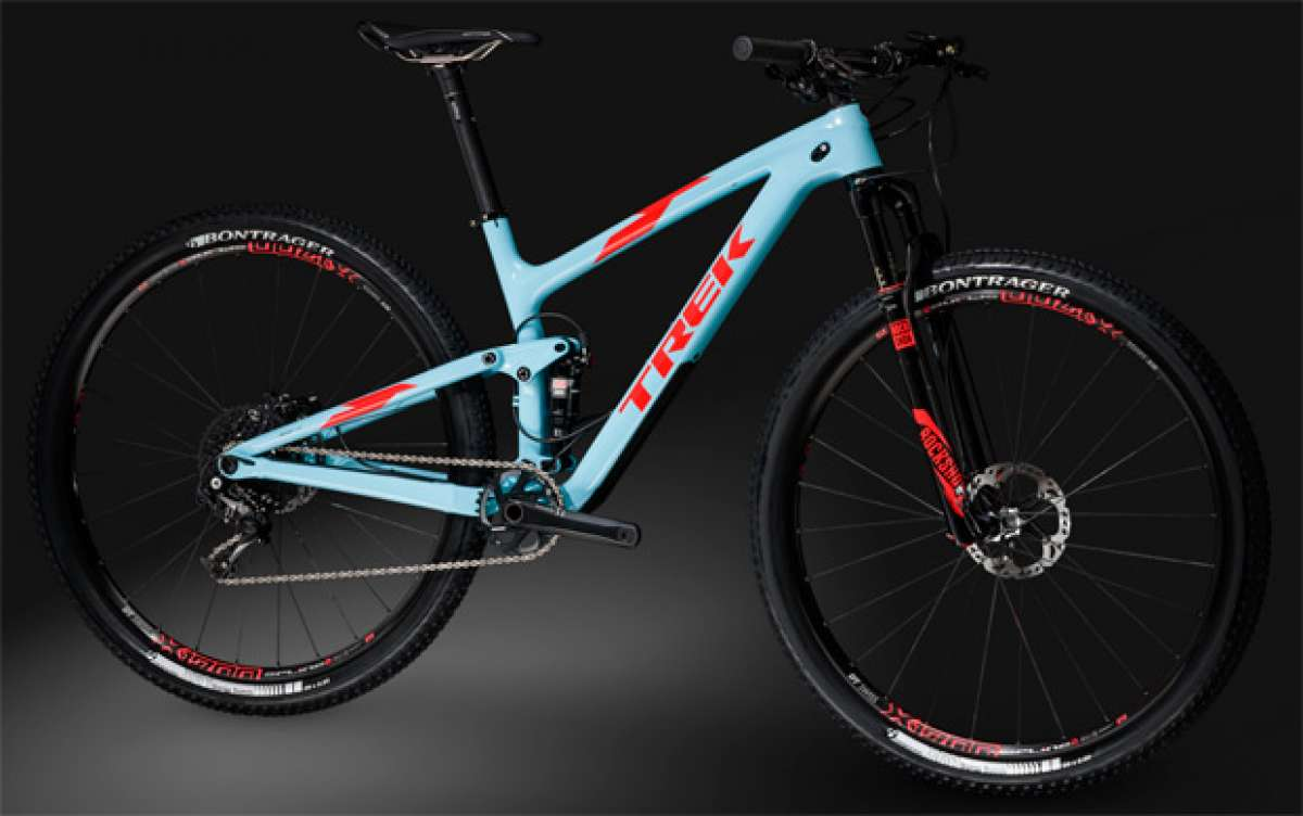 Trek Top Fuel 2016, el retorno de la doble más legendaria de la firma