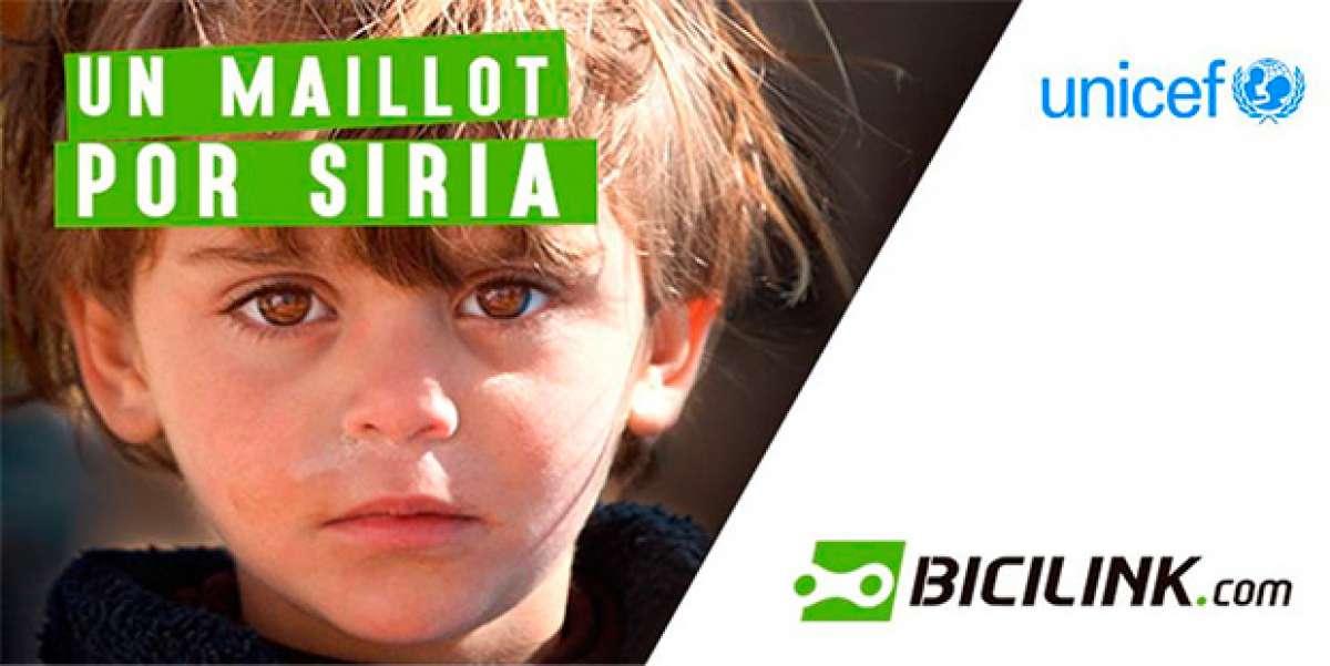 """""""Un maillot por Siria"""", una iniciativa de Bicilink y UNICEF apadrinada por algunos de los mejores corredores XCO del mundo"""