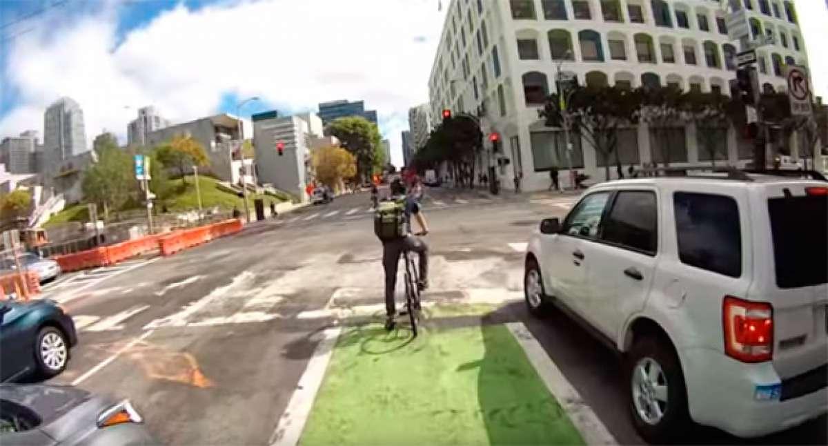 Una semana rodando con un ciclista de San Francisco (California)