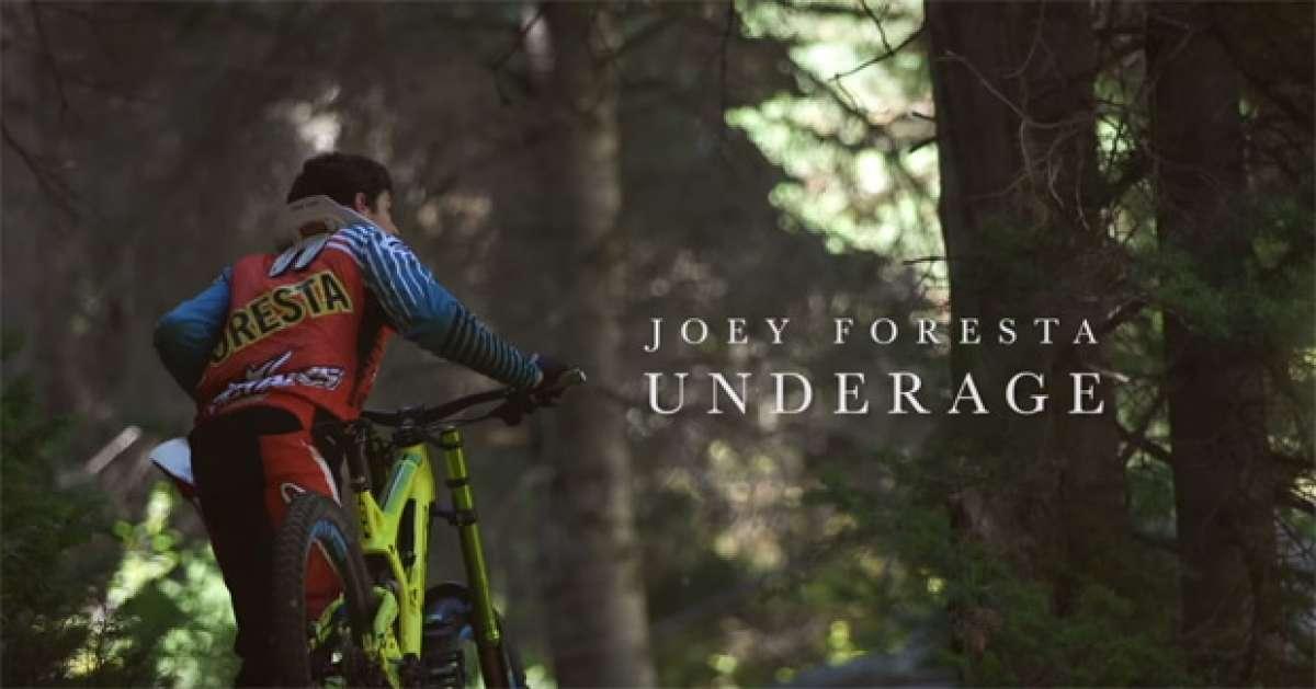 Así rueda Joey Foresta, un joven corredor de la cantera de GT Bicycles