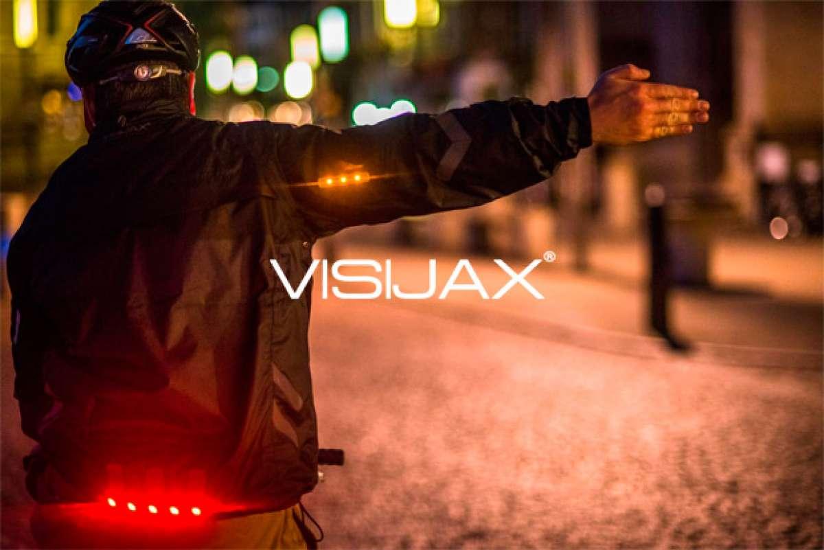 Visijax Commuter, una chaqueta de alta visibilidad con iluminación integrada para ciclistas