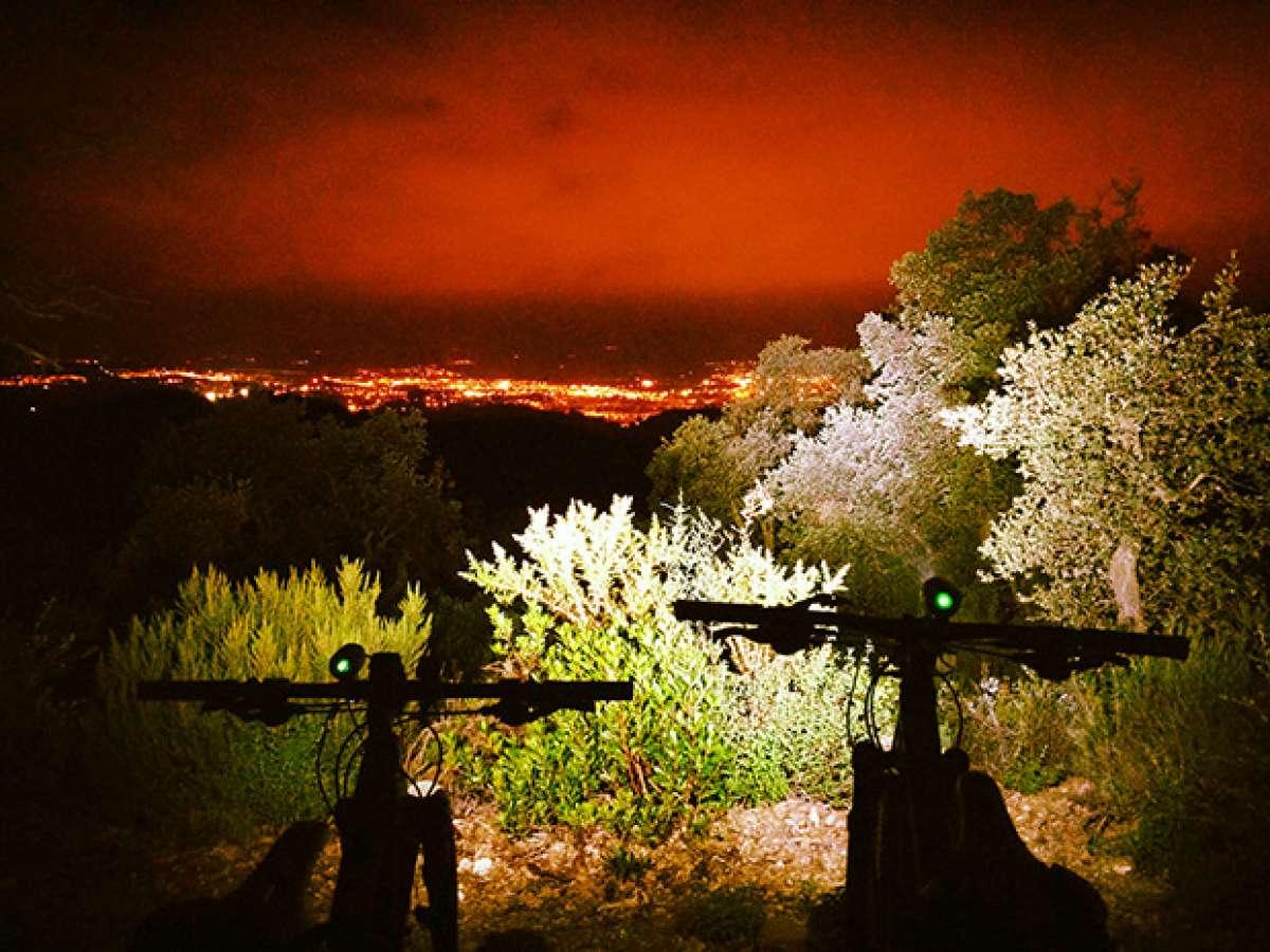 """La foto del día en TodoMountainBike: """"Visión nocturna"""""""