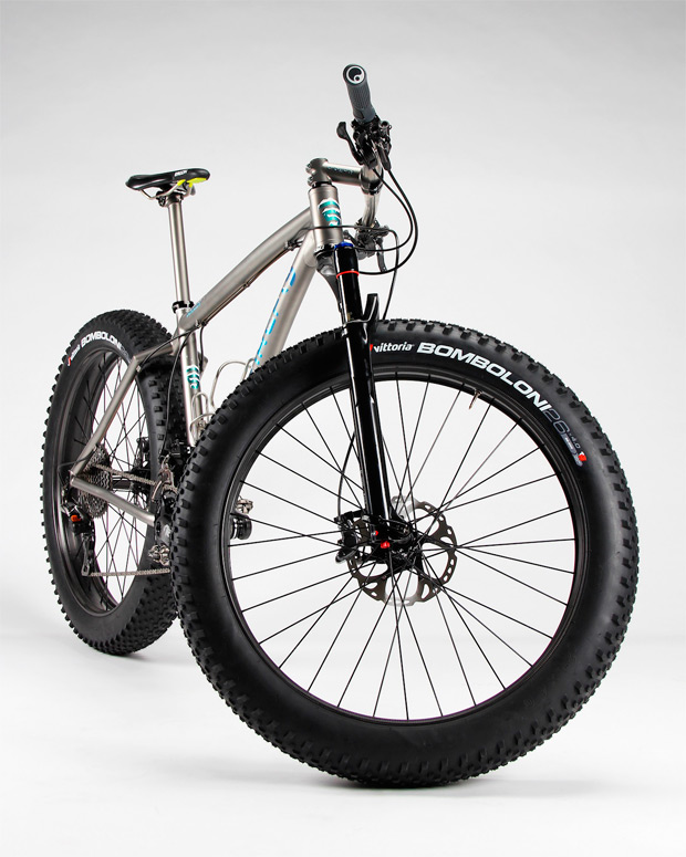 "Vittoria Bomboloni, el nuevo neumático de la firma italiana para ""Fat Bikes"""