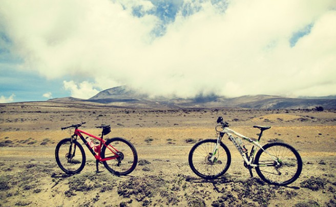 La foto del día en TodoMountainBike: 'Volcán Chimborazo, el techo de Ecuador'