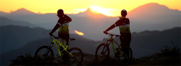 Ciclismo de montaña invernal en el País Vasco con los chicos de Basque By Bike