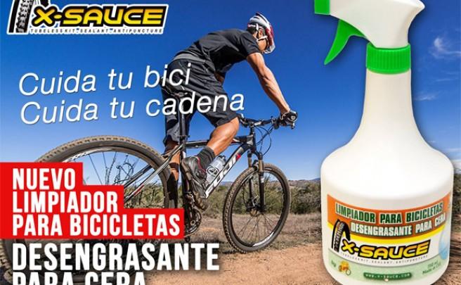 Nuevo limpiador (y desengrasante) para bicicletas de X-Sauce