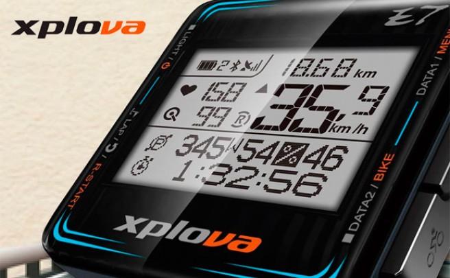 Xplova E7, un nuevo ciclocomputador con GPS, Bluetooth y ANT+ integrados