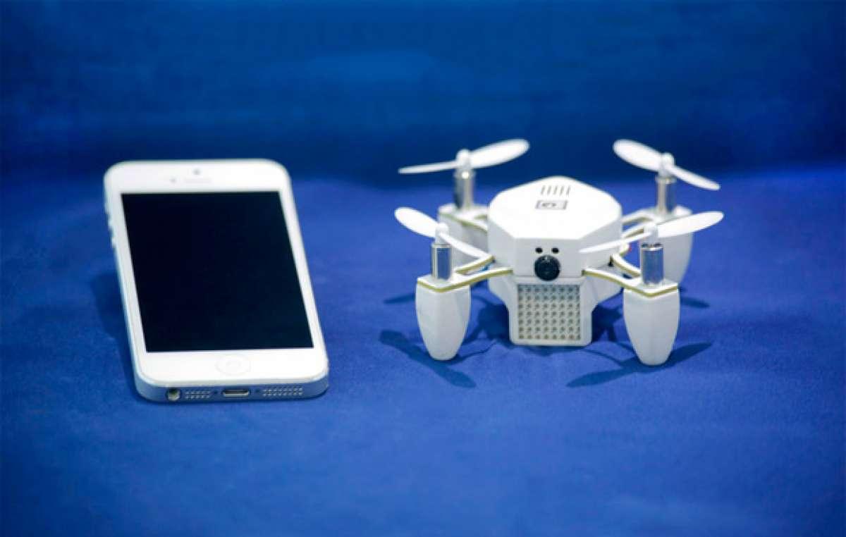 """ZANO, un pequeño """"drone"""" con función de seguimiento para grabar nuestras aventuras ciclistas"""