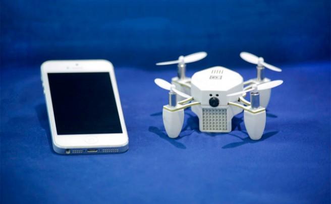 ZANO, un pequeño 'drone' con función de seguimiento para grabar nuestras aventuras ciclistas
