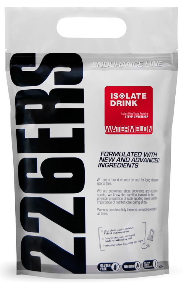 Nuevo suplemento proteico 'Isolate Drink' de 226ERS