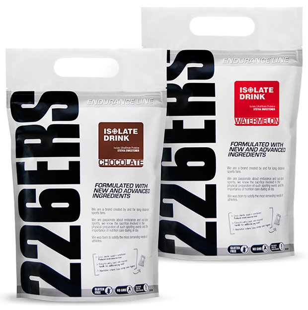 """Nuevo suplemento proteico """"Isolate Drink"""" de 226ERS"""