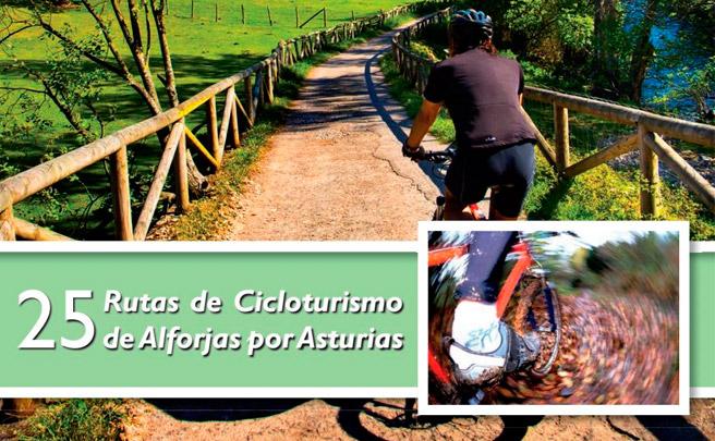 25 rutas cicloturistas para descubrir Asturias sobre una bicicleta